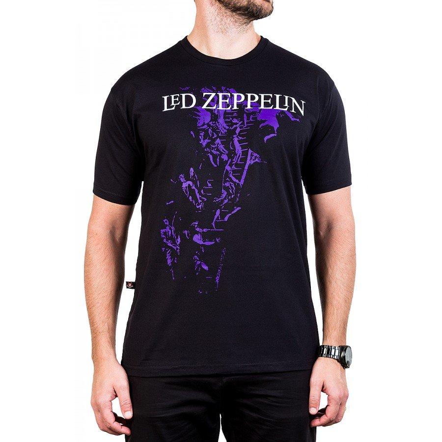 camiseta led zeppelin escada gola redonda 375 2