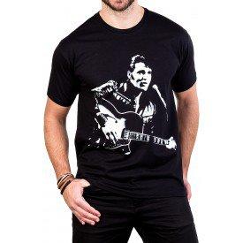 camiseta elvis presley violao e microfone gola c elastano 2562 1