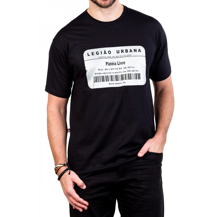 camiseta legiao urbana como e que se diz eu te amo gola redonda 229 1