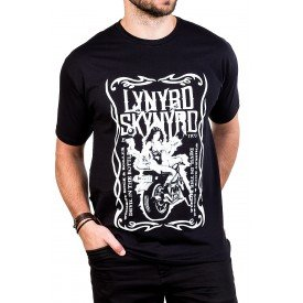 camiseta lynyrd skynyrd devil in a bottle manga curta 2551 1