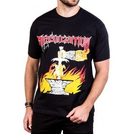 camiseta massacration gates of metal fried chicken of death 230 4