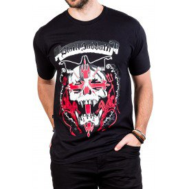 camiseta black sabbath caveira cruz com estampa 108 4
