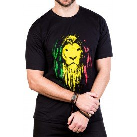 camiseta bob marley leao preta 2741 3
