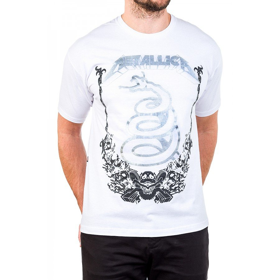 camiseta metallica cobra serpente masculino 1