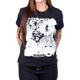 camiseta the beatles revolver feminina 2839 3