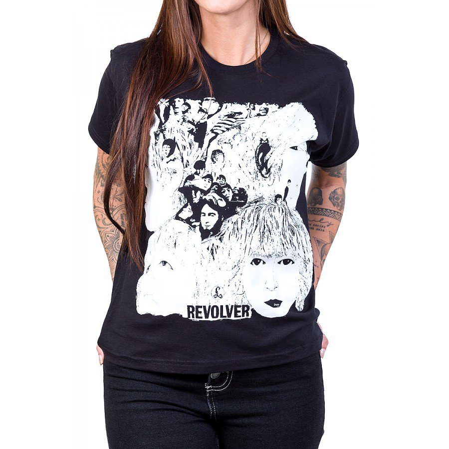 camiseta the beatles revolver feminina 2839 3