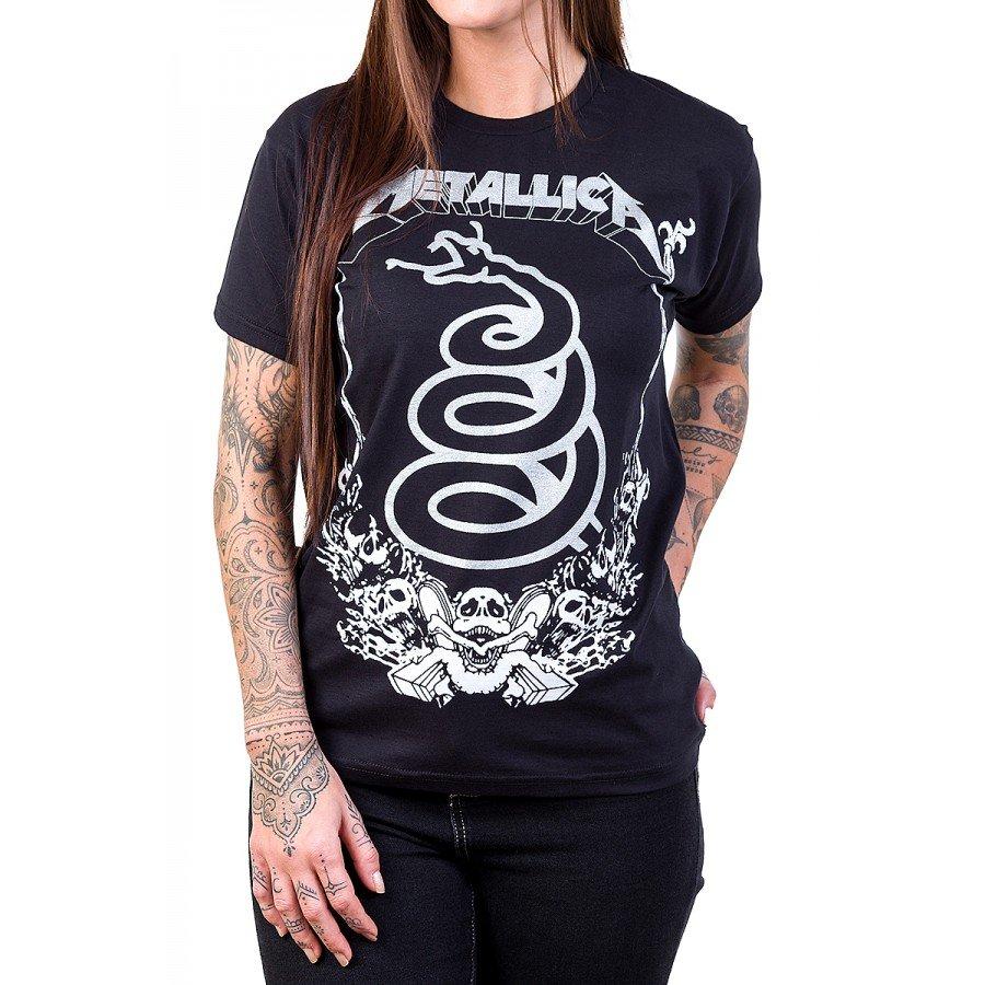 camiseta metallica cobra serpente preta 231 4