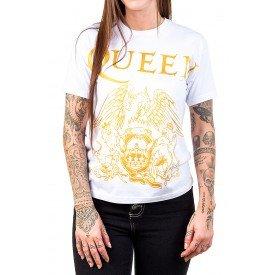 camiseta queen logo branca 174 3