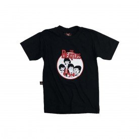 camiseta bebe the beatles banda gola redonda bb013