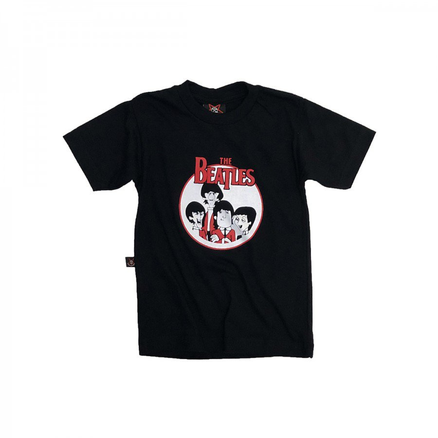 camiseta bebe the beatles banda gola redonda bb013