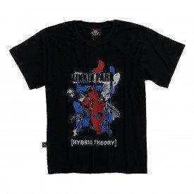 camiseta infantil linkin park hybrid theory gola c elastano in535