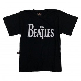 camiseta infantil the beatles escrita bandalheira in627
