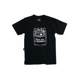 camiseta bebe desce logo um whisky com estampa bb012