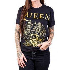 camiseta queen logo 100 algodao 174 4