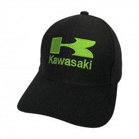 bone kawasaki logo preta bn27