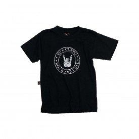 camiseta bebe simbolo do rock bandas unisex bb015