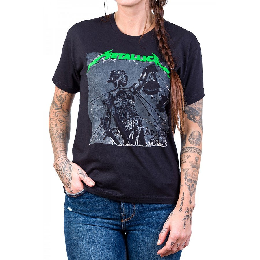 camiseta metallica and justice for all gola redonda 437 4