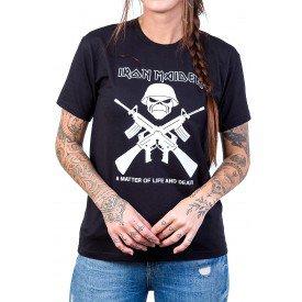 camiseta iron maiden armas preta 2750 1