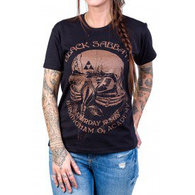 camiseta black sabbath aviador feminino 2595 4