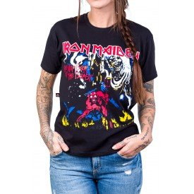 camiseta iron maiden the number of the beast gola redonda 146 4