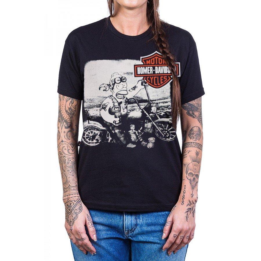 camiseta homer davidson harley davidson reforco de ombro a ombro 2738 3