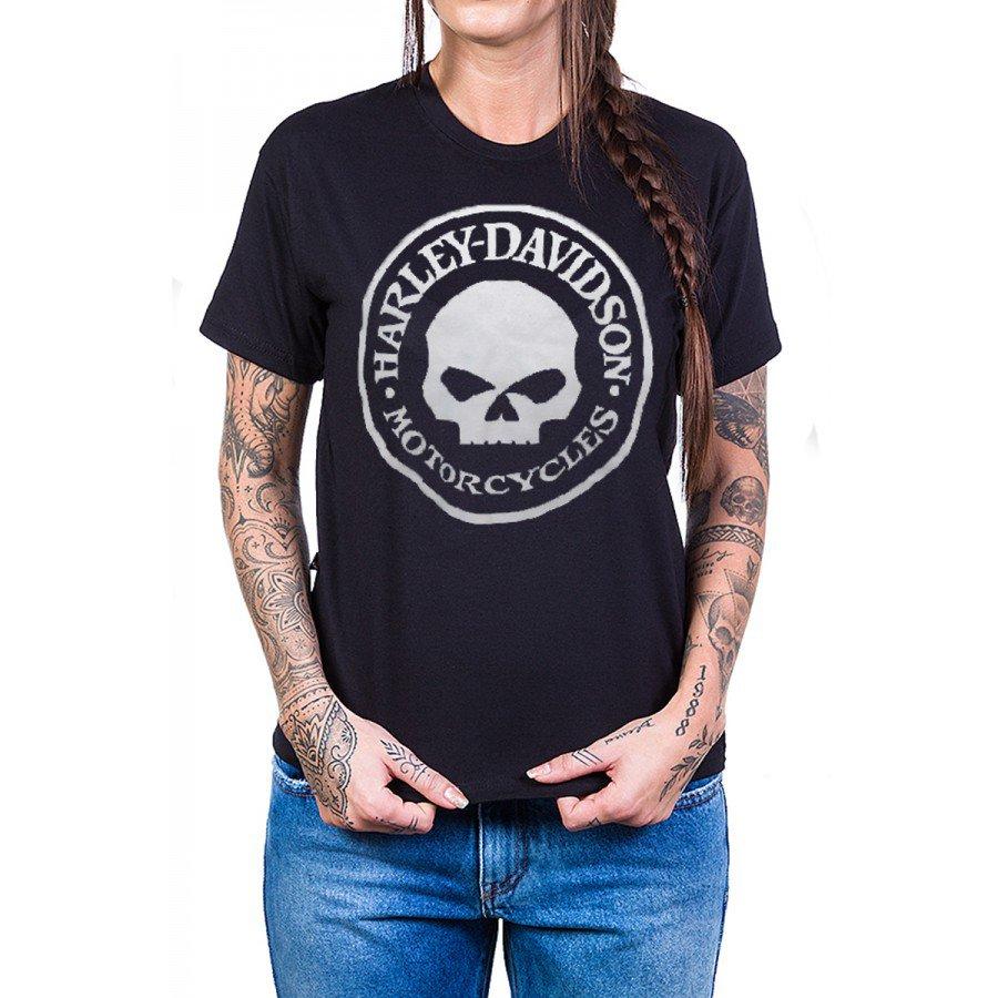 camiseta harley davidson logo redondo com estampa 2684 2