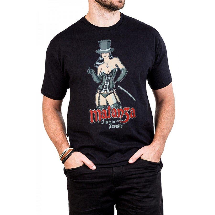 camiseta matanza a arte do insulto gola redonda 384 2