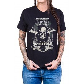 camiseta avenged sevenfold trust no one reforco de ombro a ombro 432 1