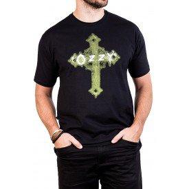 camiseta black sabbath ozzy osbourne cruz preta 392 3