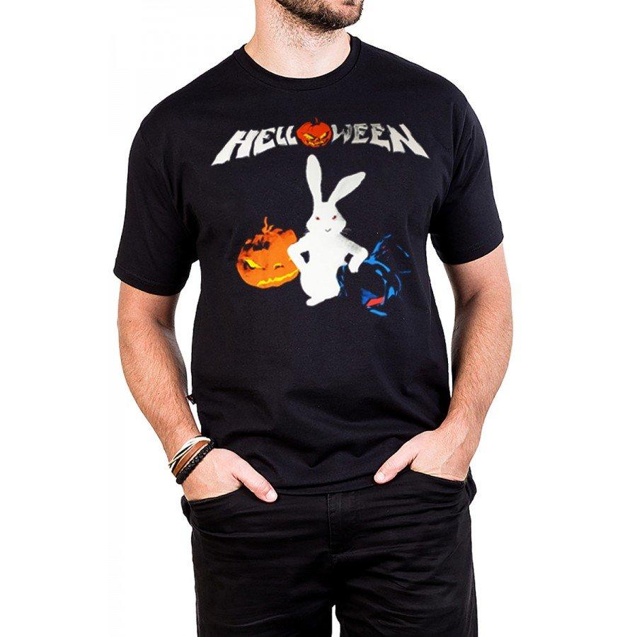 camiseta helloween coelho nao vem facil bandalheira 223 4
