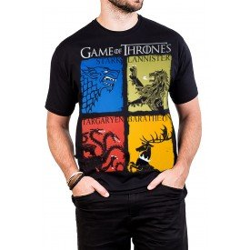 camiseta game of thrones brasao familias preta 2801 1
