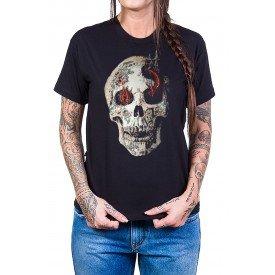 camiseta caveira serpente bandalheira 333 3