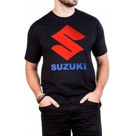 camiseta suzuki logo com estampa 257 2