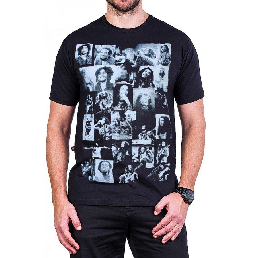 camiseta bob marley fotinhas 100 algodao 2563 1