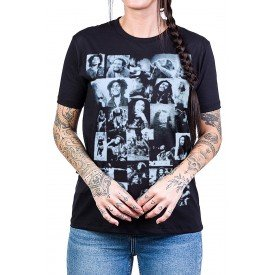 camiseta bob marley fotinhas feminina 2563 3