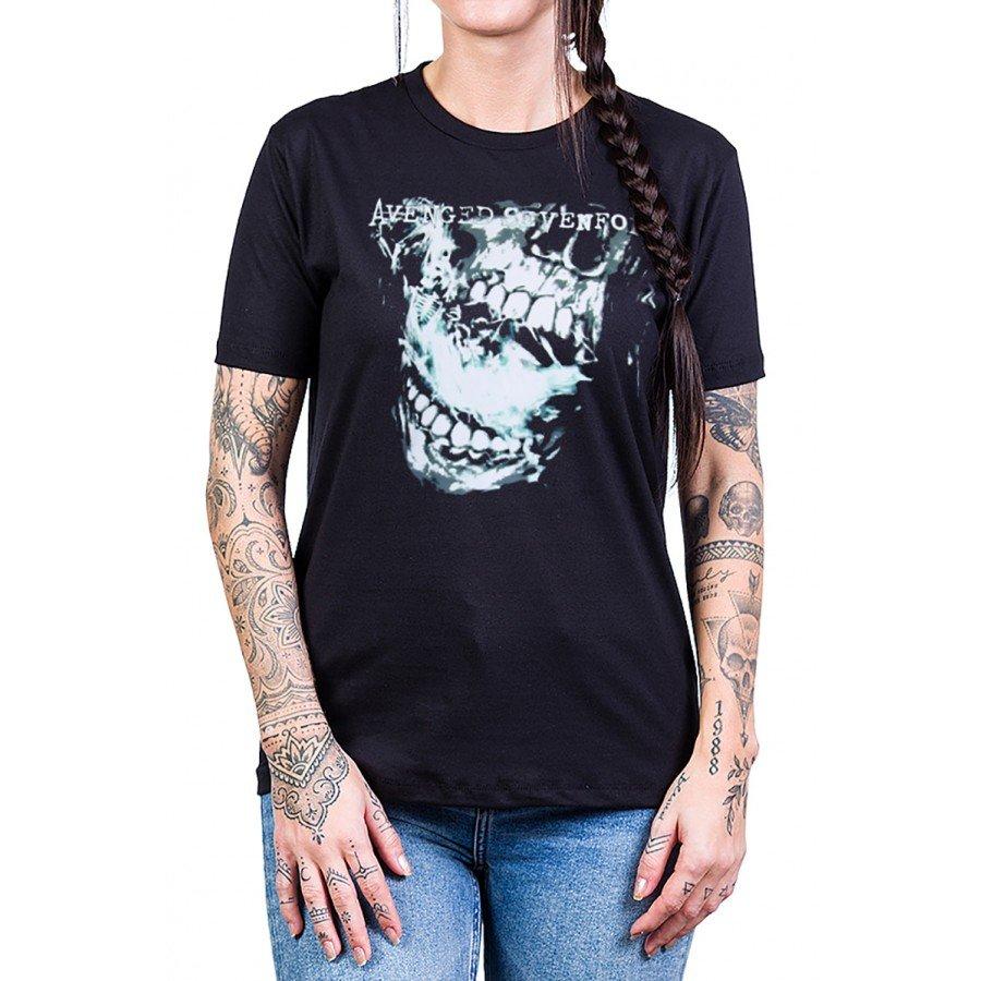 camiseta avenged sevenfold nightmare preta 2521 9 1