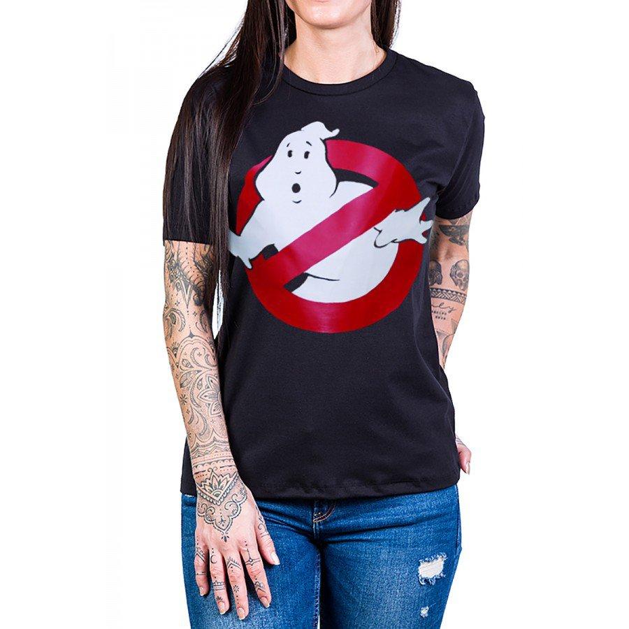 camiseta caca fantasmas logo preta 2702 2