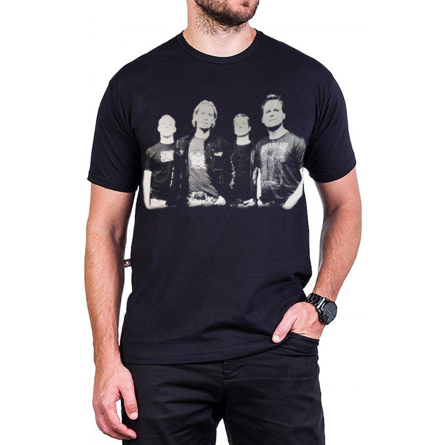 camiseta nickelback grupo com estampa 2642 3