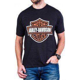 camiseta harley davidson logo 100 algodao 252 3