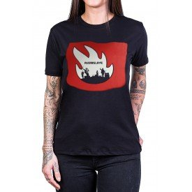 camiseta audioslave logo banda com estampa 2538 4