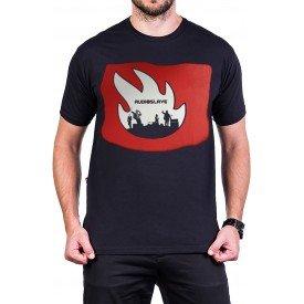 camiseta audioslave logo banda manga curta 2591 3