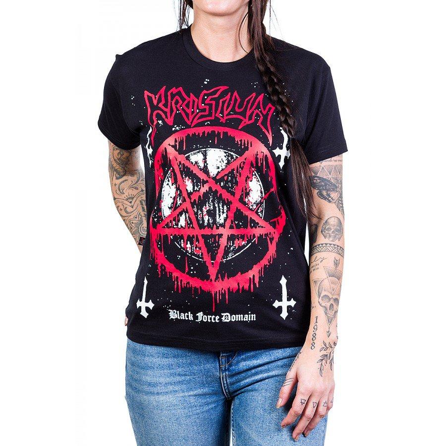 camiseta krisiun black force domain gola redonda 2837 4