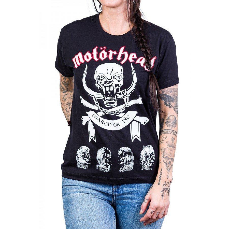 camiseta motorhead march or die com estampa 158 3