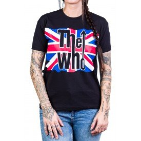 camiseta the who greatest hits live reforco de ombro a ombro 2567 3