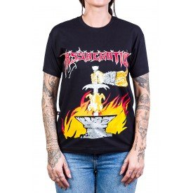 camiseta massacration gates of metal fried chicken of death preta 230 1
