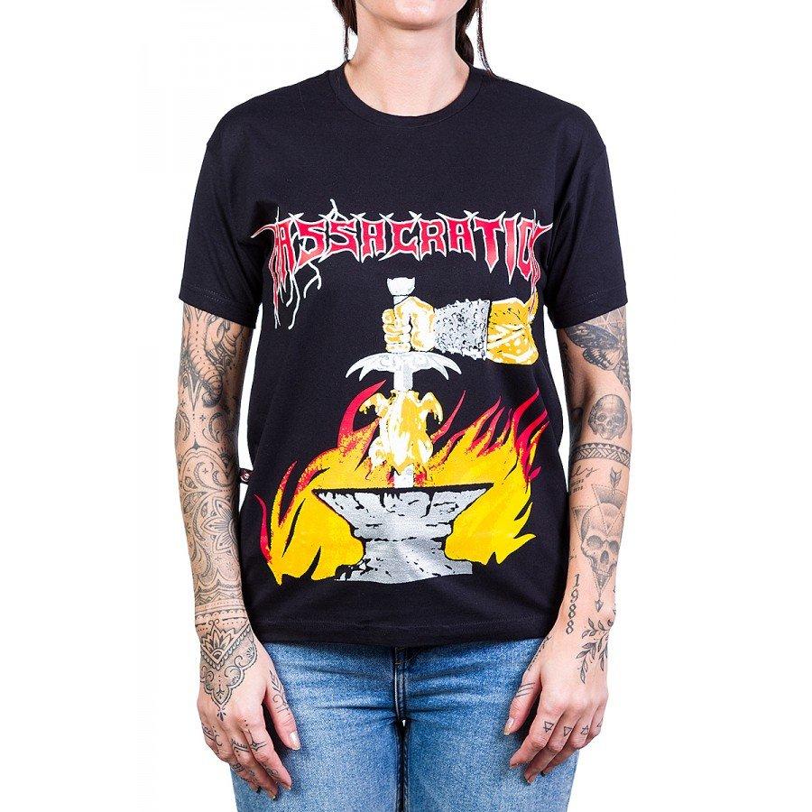 camiseta massacration gates of metal fried chicken of death preta 230 1