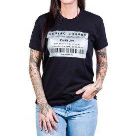 camiseta legiao urbana como e que se diz eu te amo preta 229 3