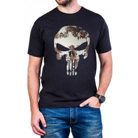 camiseta justiceiro manchado com estampa 2700 2