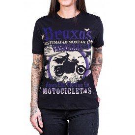 camiseta bruxas motocicletas preta 2865 2