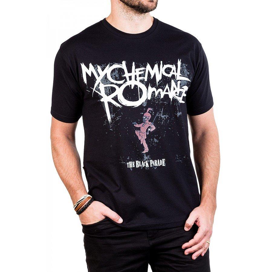 camiseta my chemical romance the black parade gola c elastano 276 3